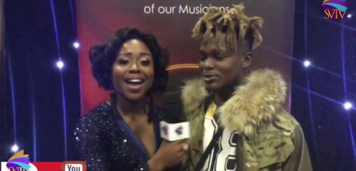 Celebrities On Red Carpet At Ghana Music Awards UK 2019