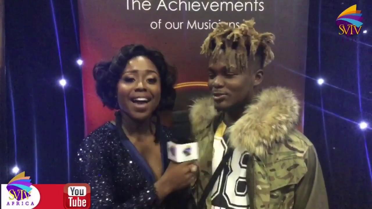Celebrities On Red Carpet At Ghana Music Awards UK 2019