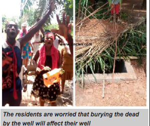 Manya Krobo: Irate residents protest private burial over health concerns
