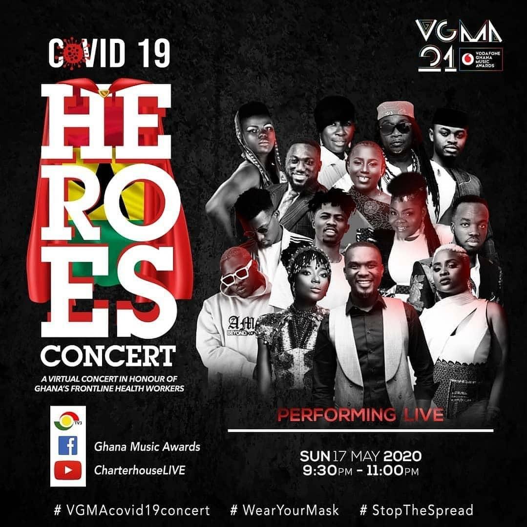 C0VID 19: HEROS CONCERT – A Virtual Concert in honour of Frontline Health Workers – VGMA 21