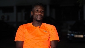 Asamoah Gyan hints on becoming MP for Weija-Gbawe
