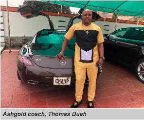 Ashgold coach Thomas Duah wants 2019/20 league season cancelled