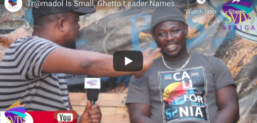 Tramadol Is Small, Ghetto Leader Names More Dangerous Drug k!lling Youth – GHETTO LIFE STORY