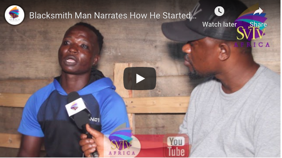 Blacksmith Man Narrates How He Started Smoking Weed – GHETTO LIFE STORY