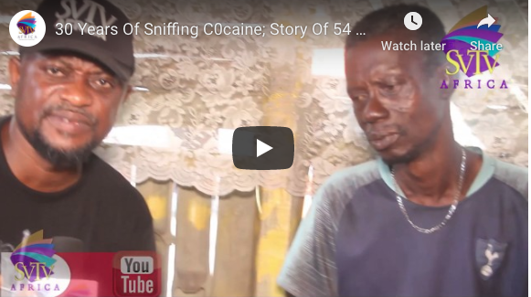 30 Years Of Sniffing Cocaine; Story Of 54 years Old Man Still Battling With Drugs