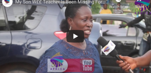 My Son Wee Teacher Is Been Missing For 20 Years – Mother Reveals
