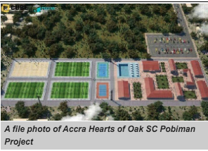 Works on Hearts of Oak Pobiman Project to start next week