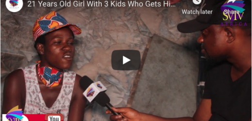 21 Years Old Girl With 3 Kids Who Gets High From Wee & Tramol – GHETTO LIFE STORY
