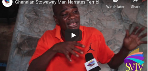 Ghanaian Stowaway Man Narrates Terrible Experience On The Sea To Argentina – GHETTO LIFE STORY