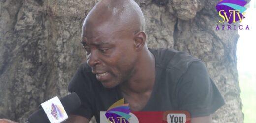 SVTV Africa Receives Support For Former Black Stars Player, Now Drug Addict.