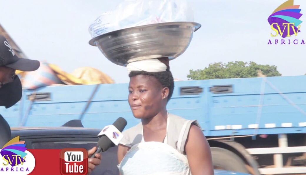 I feed on 4 cedis each day, with my one year old daughter – Helpless Single Mother