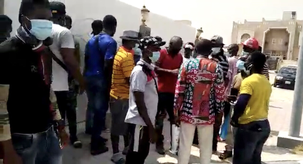 Ghana Embassy In Qatar, Cancels Flight Of Its Stranded Citizens Who Want To Return Home
