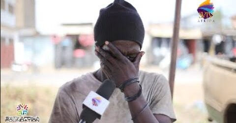 Man Weeps Live On Set Over Addiction – GHETTO LIFE STORY