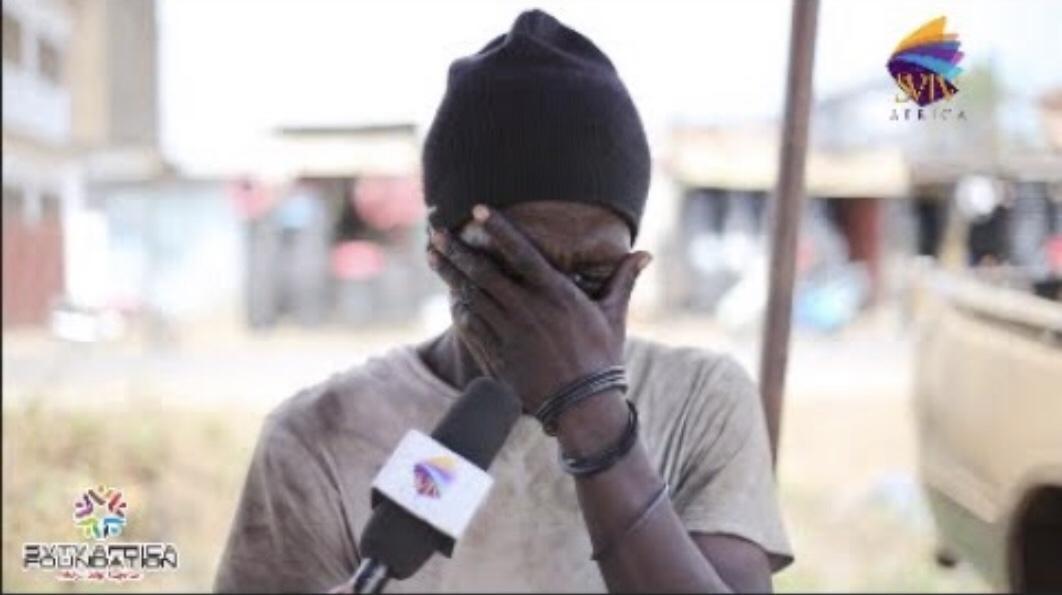 Man Weeps Over Drug Addiction Live On Set