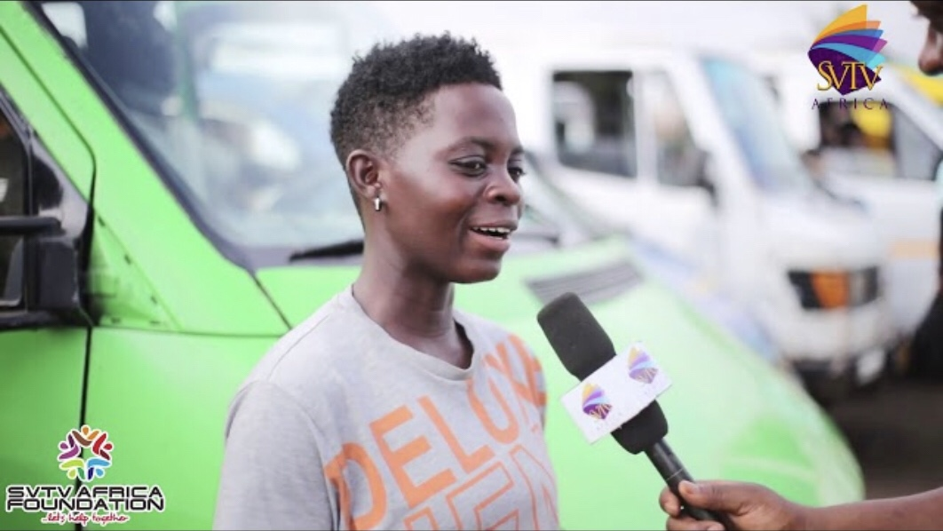I Quit Football To Become a Trotro Conductor -23 Year Old Lady