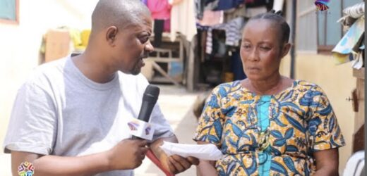 Popular Ghanaian Actress Who Goes Blind Receives 4,050gh Through SVTV Africa Foundation