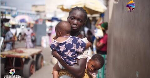 Single Mother Selling Pure Water With Twin Babies Receives GH¢ 3,300 Through SVTV Africa Foundation