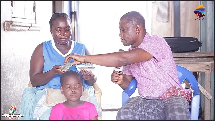 Single Mother Receives 3000gh For Rent Through SVTV Africa Foundation