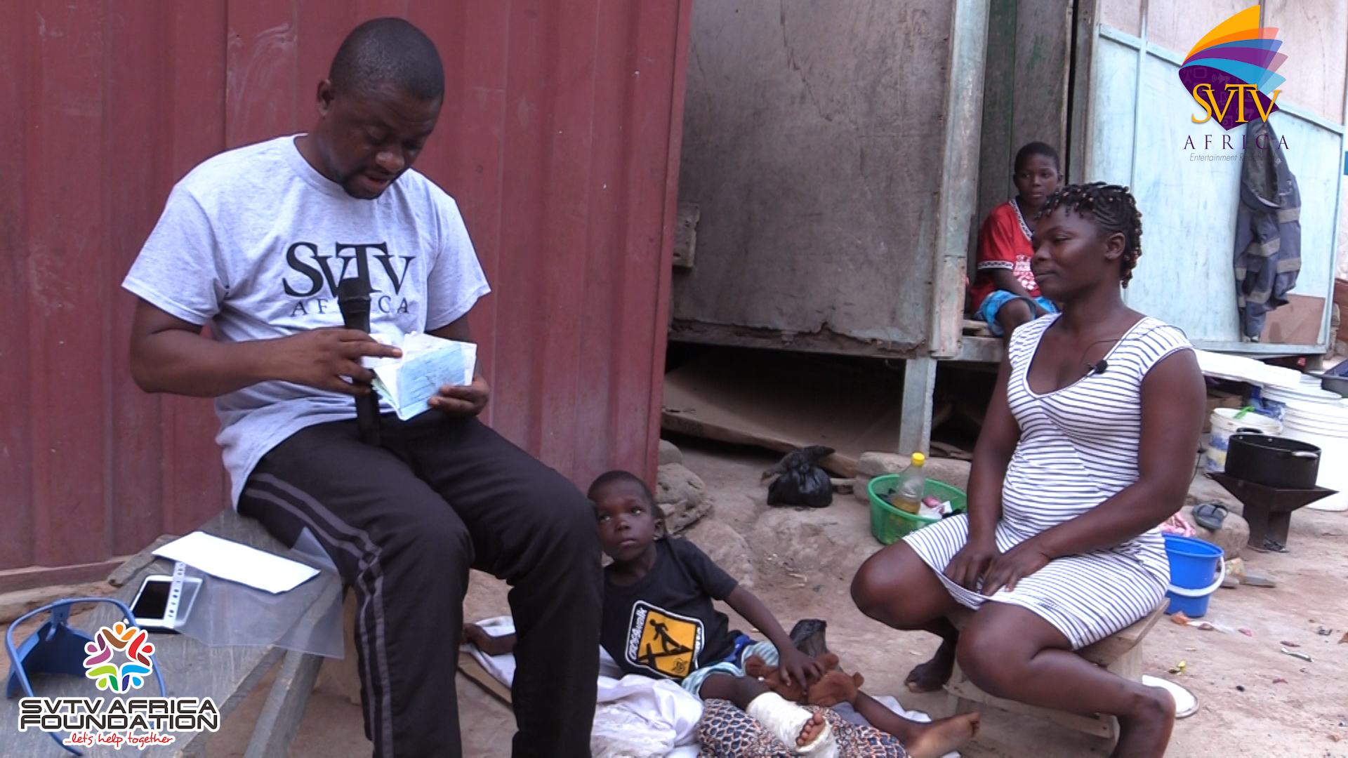 5-Year-Old Boy's Successful Surgery Which Cost 5,300gh Covered By SVTV Africa Foundation