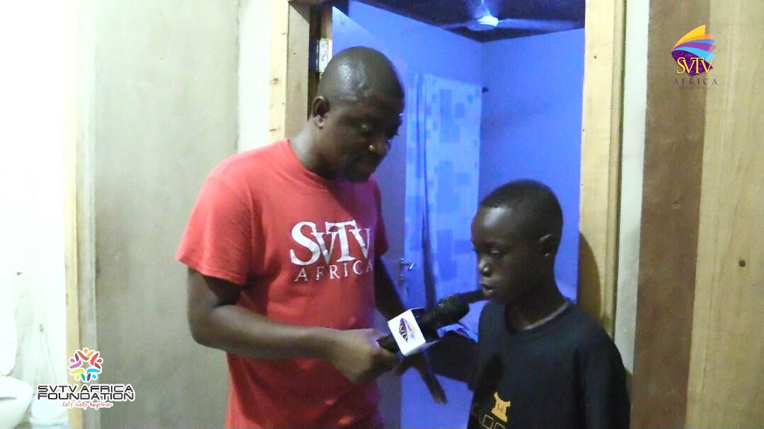 14-year-old Emmanuel Presented With A Single Room After Months Of Sleeping In 'Troski'