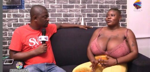 Lady with huge boobs reveals she has slept with 20 men since January this year