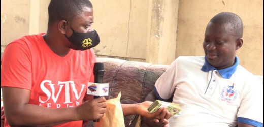 Couple Who Haven't Had Sex In Two Years Receives 1000gh Through SVTV Africa Foundation