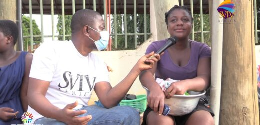 SHS Graduate sells packed fufu on the streets to support single mother