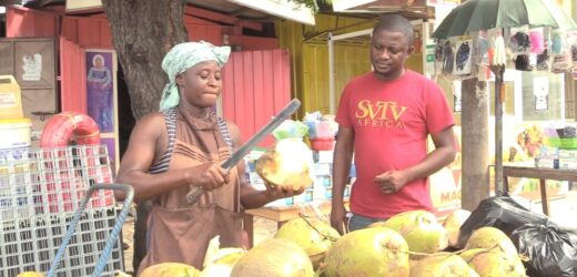 Meet Woman Who Sells Coconut With Husband To Support Family