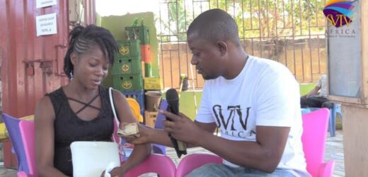 Trader who ran to Accra to hustle receives cash from SVTV Africa Foundation