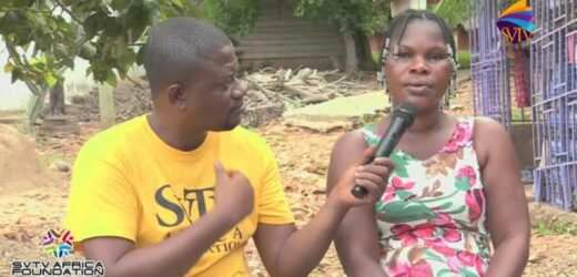 Lady believes community is cursed; says no business survives there