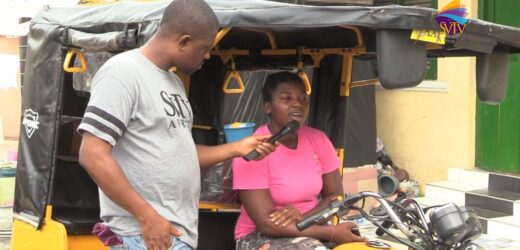Meet the only female 'pragya' rider in Cape Coast; she shares her story