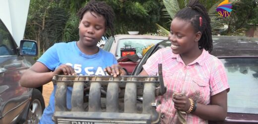 Meet 14-year-old twins who quit school to learn mechanical work