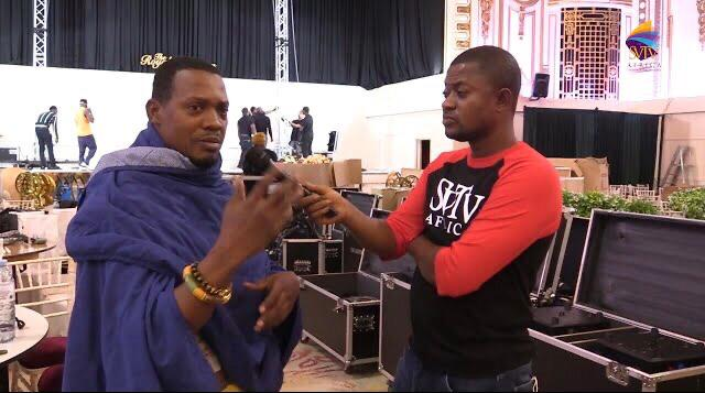 Video; check out the stage set up for Ghana Music Awards UK '21